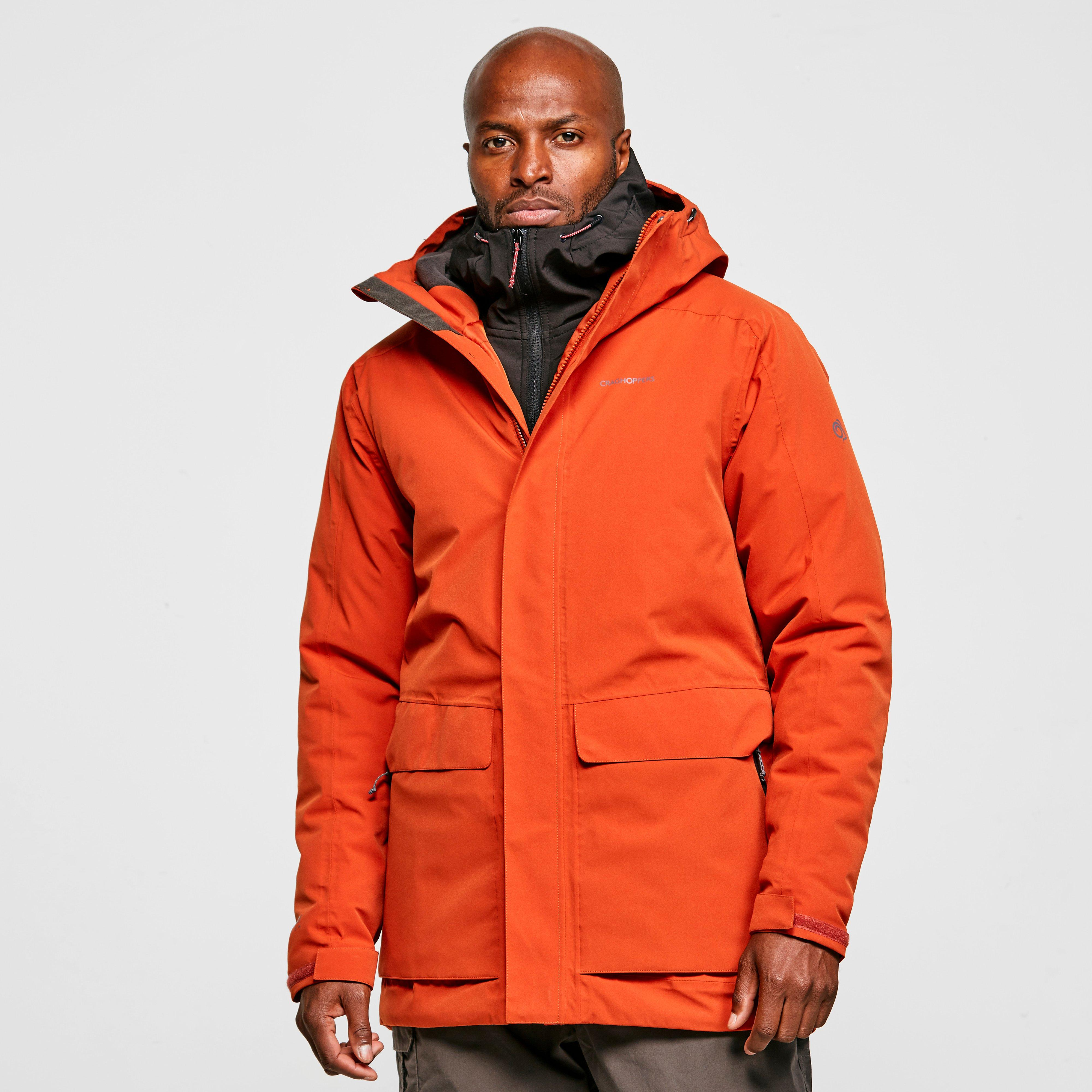 Craghoppers Men's Lorton Insulated Jacket - Orange/Org, Orange