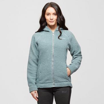 Green Craghoppers Women's Honor Hooded Fleece