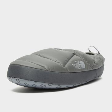 Grey The North Face Men's Nuptse Tent Mules