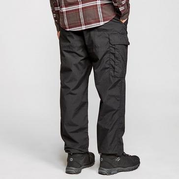 Black Craghoppers Men's Kiwi Winter Lined Trousers