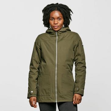 khaki Regatta Women's Bryanna Waterproof Jacket