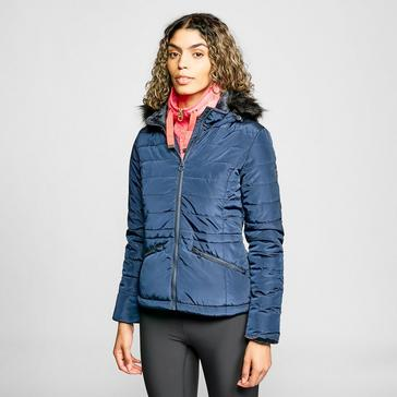 Navy Regatta Womens Westlynn Short Quilted Jacket
