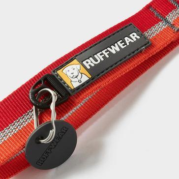 Red Ruffwear Crag Dog Collar