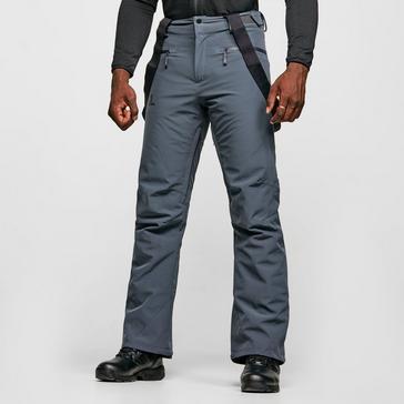 Grey Salomon Men's Stance Ski Pants