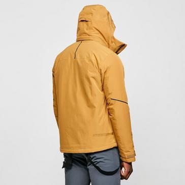 yellow Salomon Men's Edge Ski Jacket