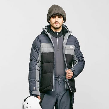 Grey Dare 2B Men's Denote Waterproof Insulated Ski Jacket