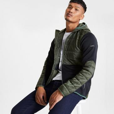 Khaki Dare 2B Men's Narrative Hooded Fleece