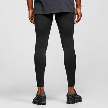 Black Icebreaker Men's Merino 200 Oasis Thermal Leggings