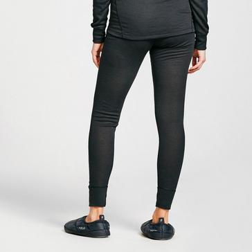 Black Odlo Women's Eco Active Warm Pant