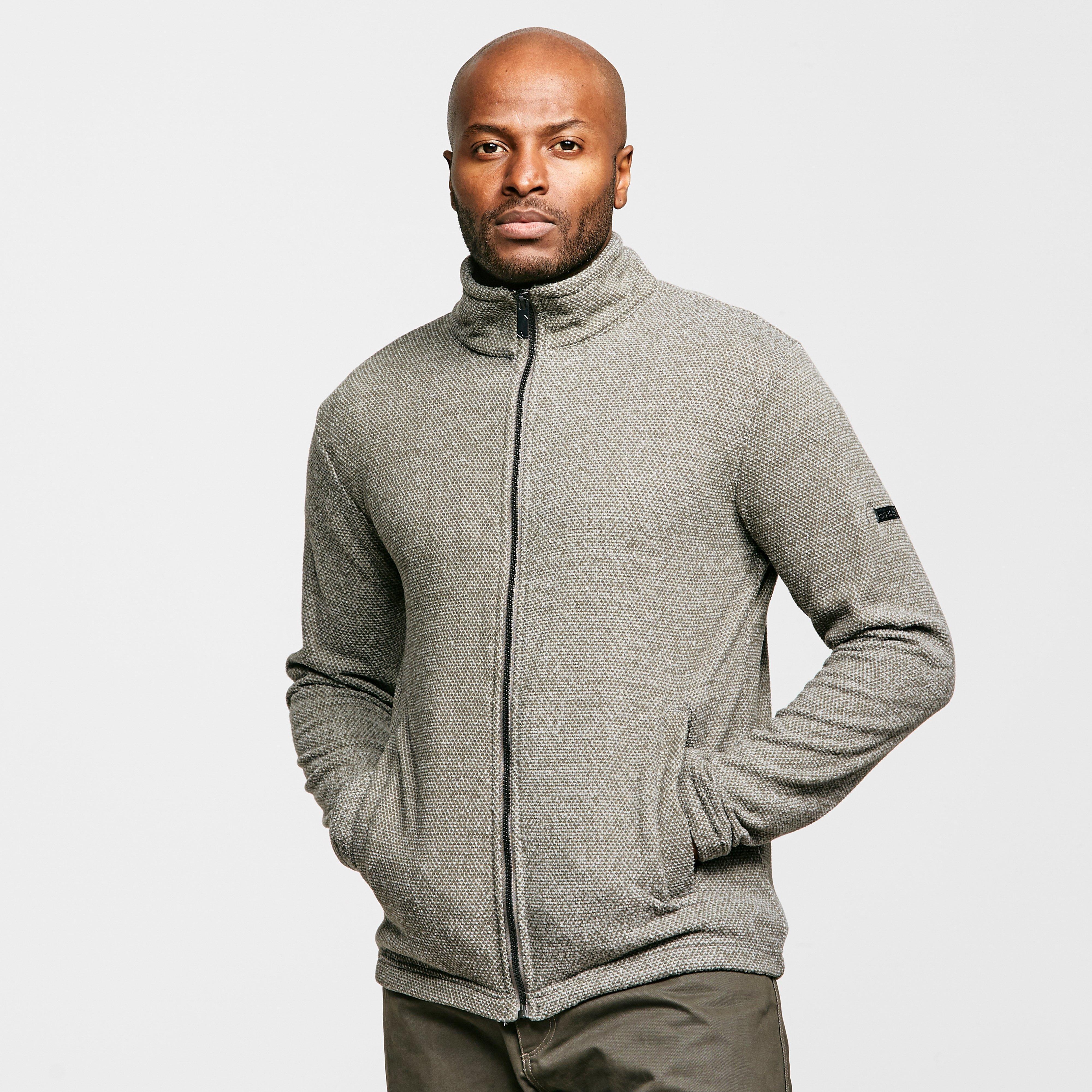 Regatta Men's Esdras Full-Zip Fleece - Grey, Grey