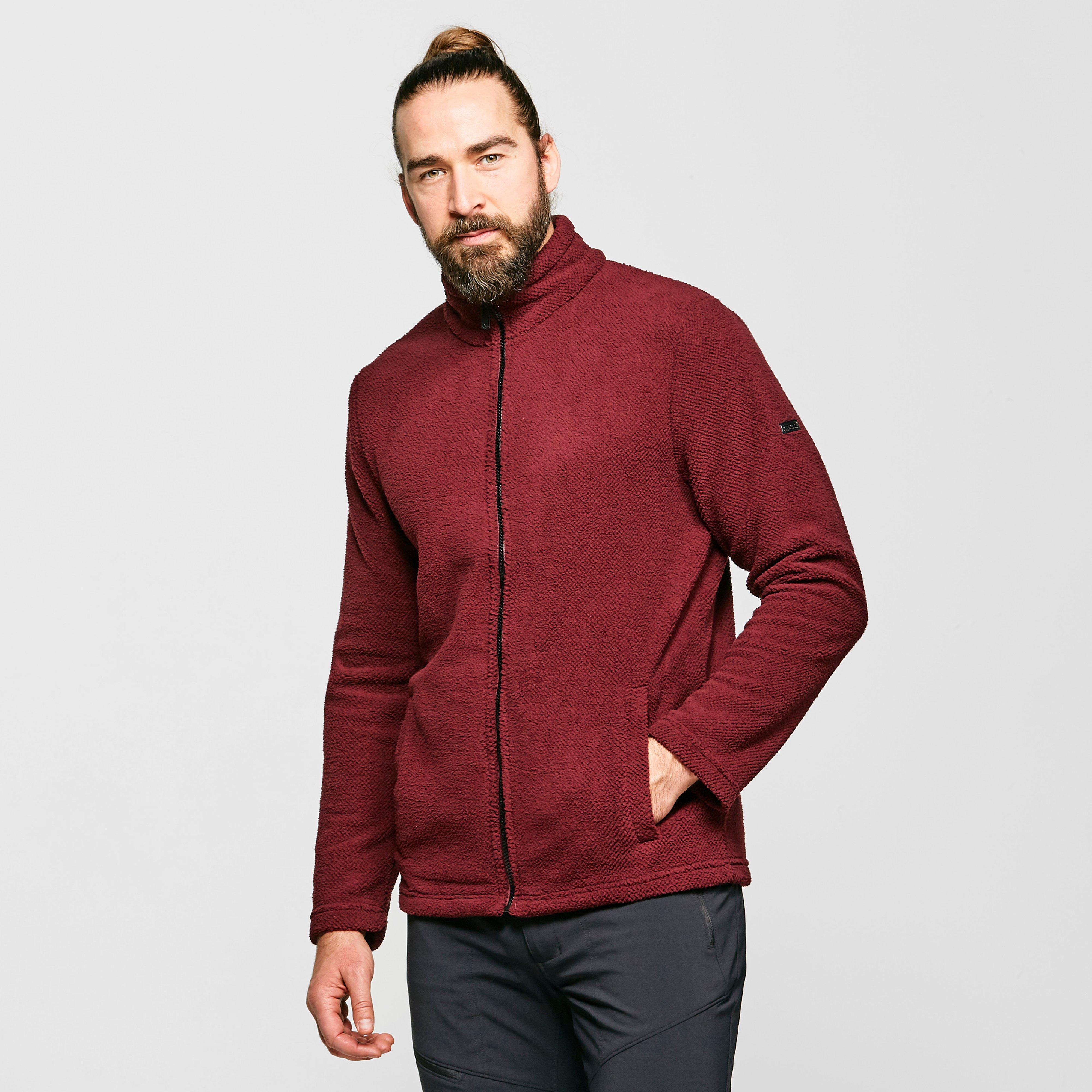 Regatta Men's Esdras Full-Zip Fleece - Red/Drd, Red