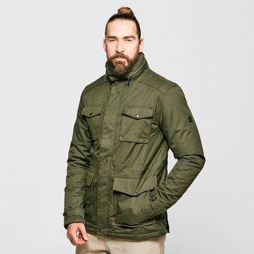 khaki Regatta Men's Eneko Waterproof Insulated Jacket