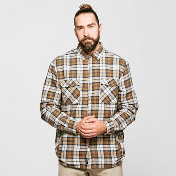 Cream Regatta Men's Tavior Fleece Lined Shirt