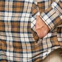 Cream Regatta Men's Tavior Fleece Lined Shirt image 5