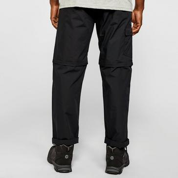 Black FREEDOMTRAIL Men's Nebraska Zip-off Trousers