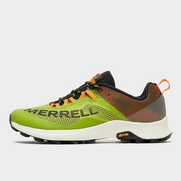 Green Merrell Men's MTL Long Sky Trail Shoes