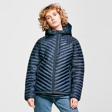 Navy Craghoppers Women's Linex Hooded Insulated Jacket