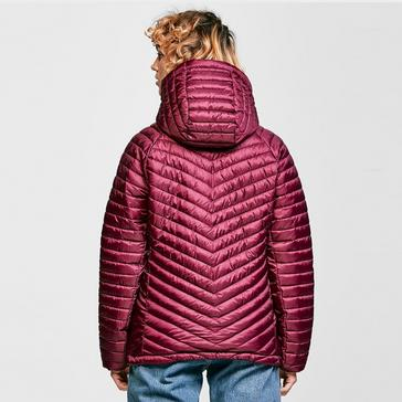 Purple Craghoppers Women's Linex Hooded Insulated Jacket