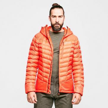 Orange Montane Men's Ground Control Jacket