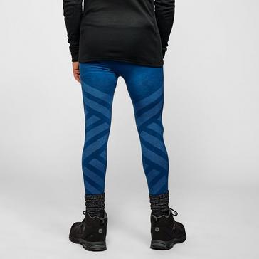 Blue Odlo Men's Natural + Kinship Baselayer Leggings