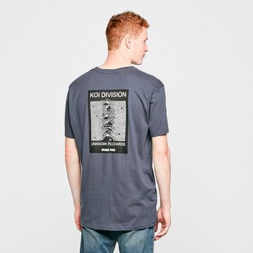 Grey Weird Fish Men's 'Koi Division' T-Shirt