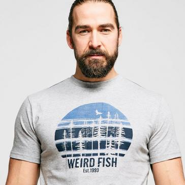 Grey Weird Fish Men's Stay Wild Tee