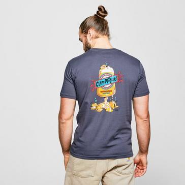 Navy Weird Fish Men's Clam Miguel Artist T-Shirt