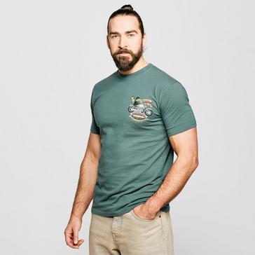 Green Weird Fish Men's MotorPike T-Shirt