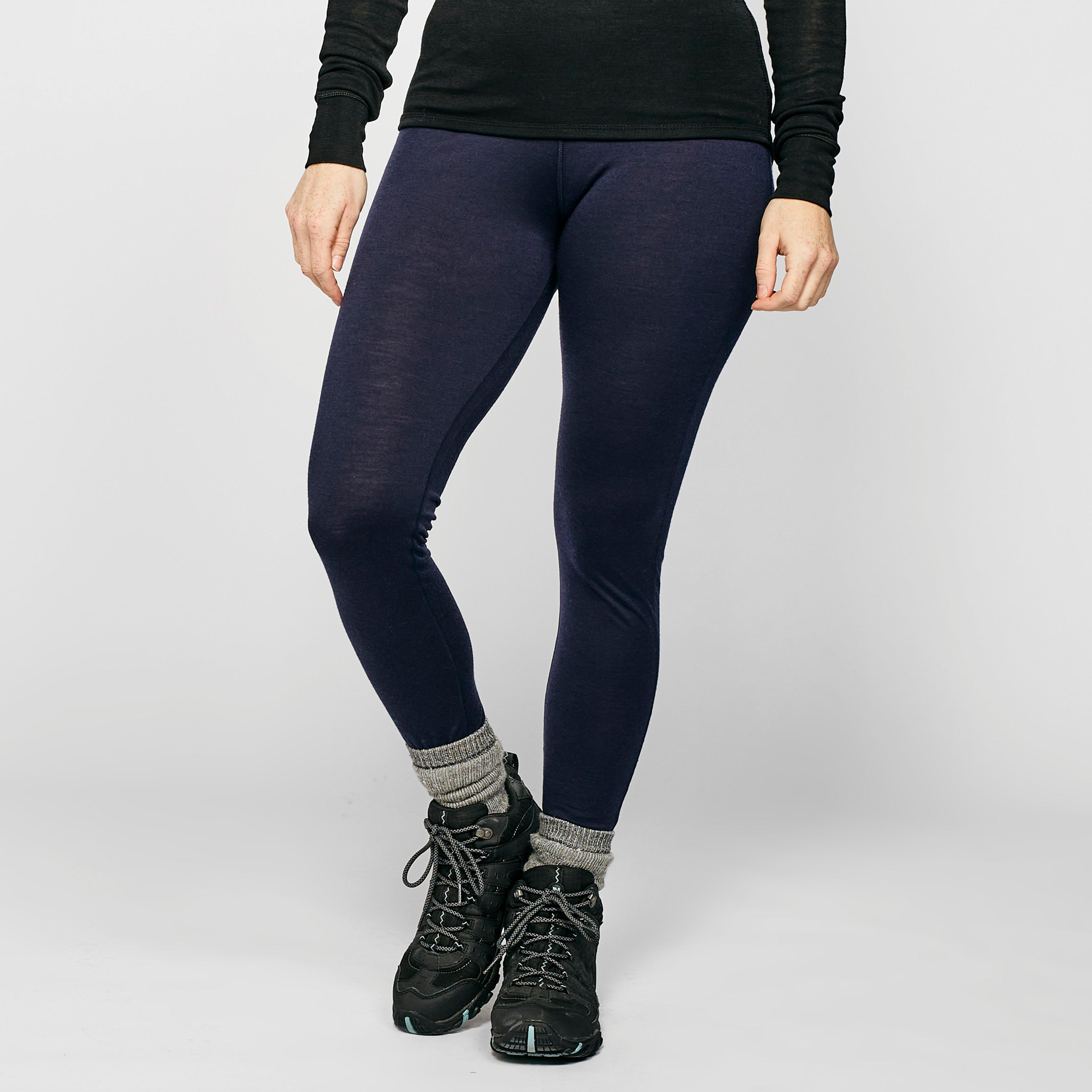 Image of Icebreaker Women's 200 Oasis Deluxe Leggings - Navy/Navy, NAVY/NAVY
