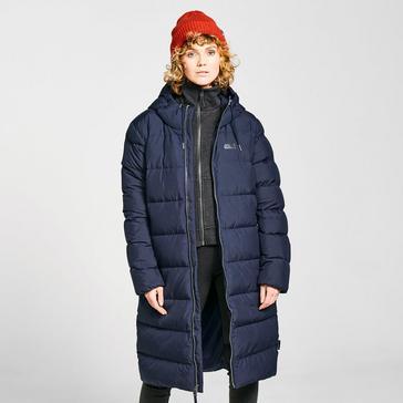 Navy Jack Wolfskin Women's Crystal Palace Jacket