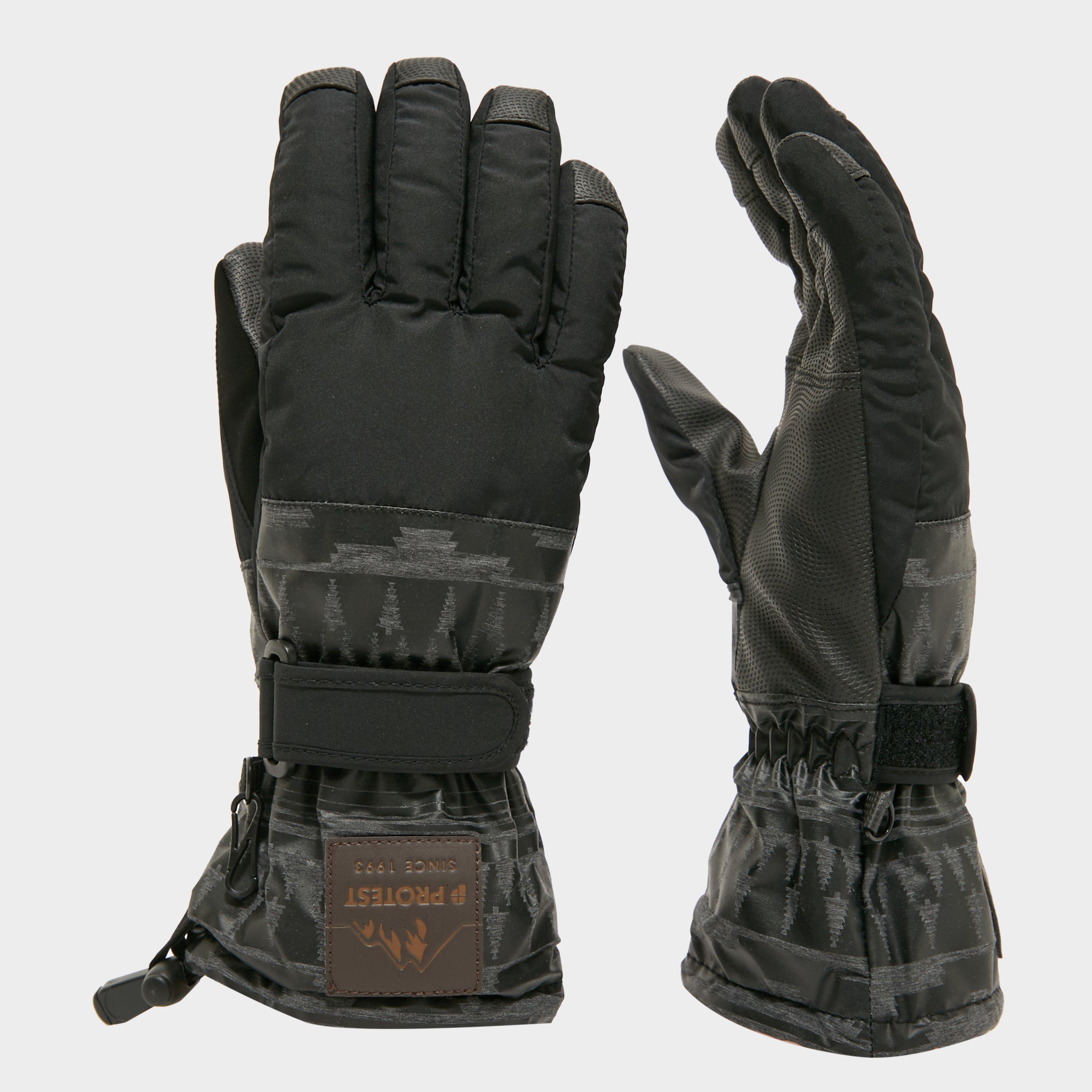 Protest Men's Carlo Gloves - Black/Blk, Black