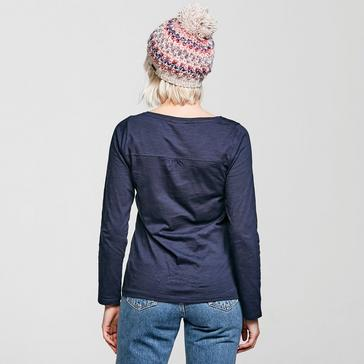 Navy Weird Fish Women's Carolina Organic Cotton T-Shirt