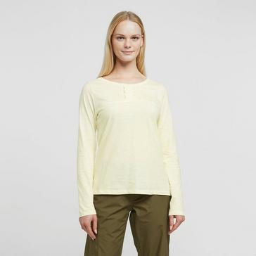 Cream Weird Fish Women's Carolina Organic Cotton T-Shirt