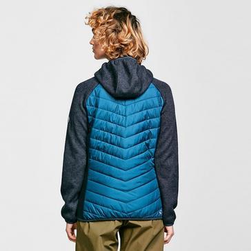 Blue Regatta Womens Pemble II Hybrid FullZip Hooded Fleece
