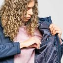 Navy Regatta Womens Myla Waterproof Insulated Jacket image 6