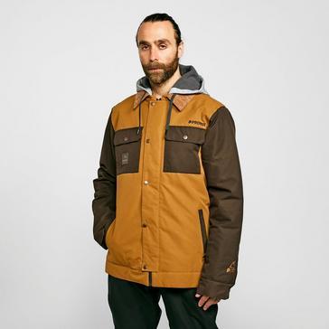 Brown Protest Men's Austin Ski Jacket
