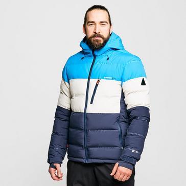 Blue Protest Men's Blur Puffer Ski Jacket