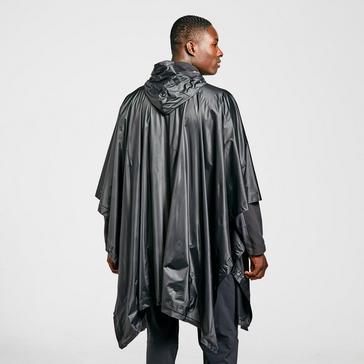 Black FREEDOMTRAIL Men's Poncho