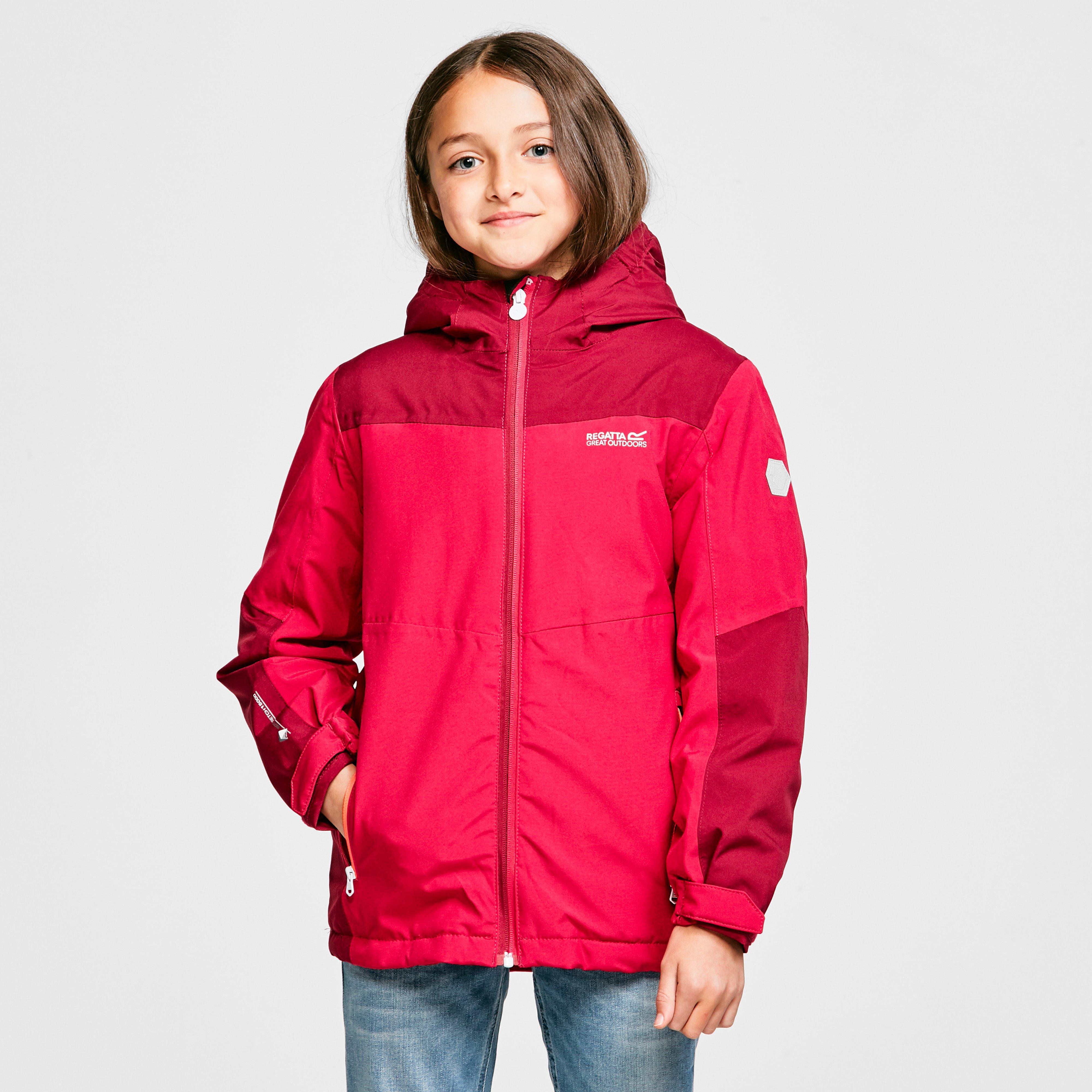 Image of Regatta Kids' Highton Insulated Jacket - Pink/Pnk, Pink/PNK