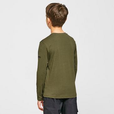Green Regatta Kids' Wenbie Long-sleeved Top