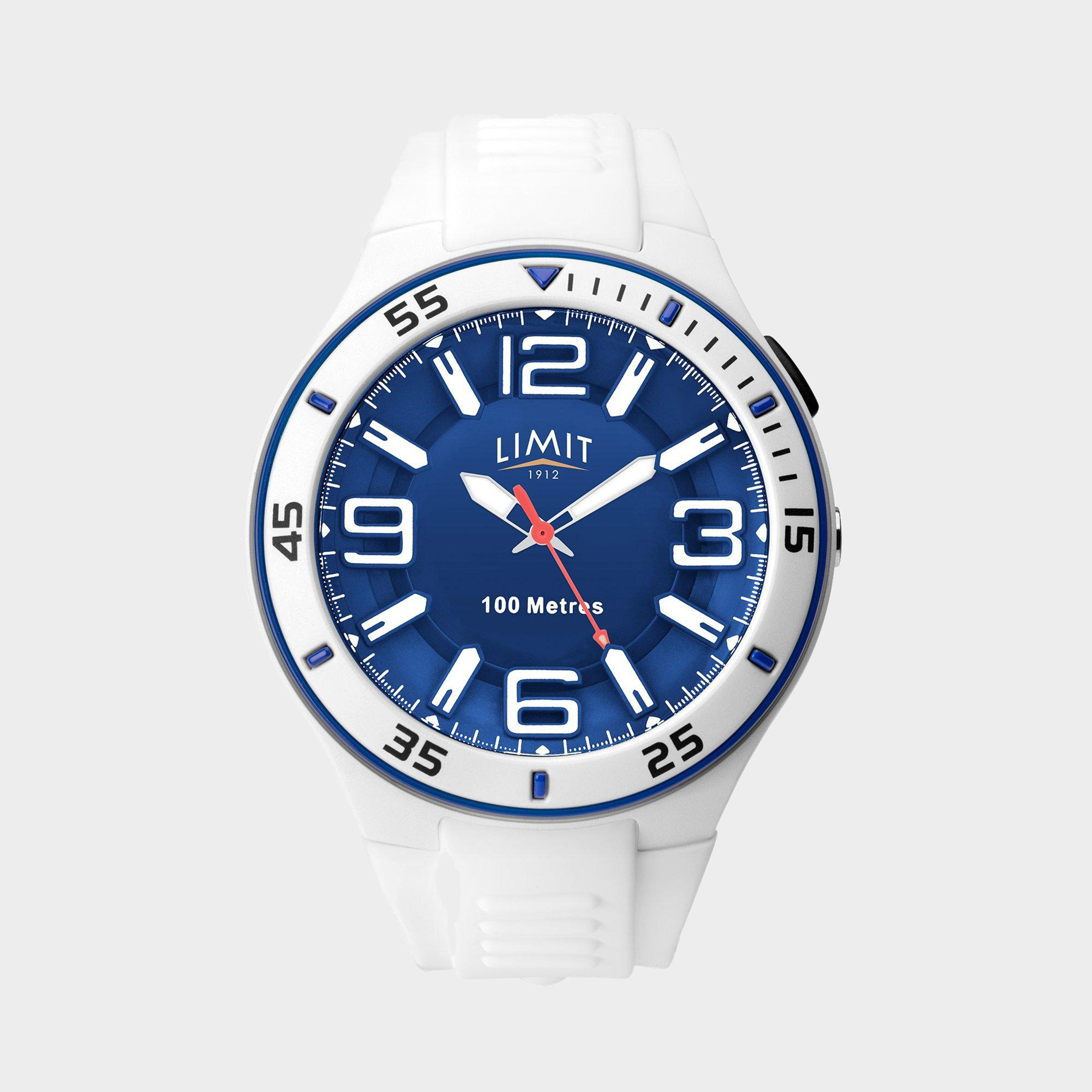 Limit Limit Active Analogue Sports Watch - White, White