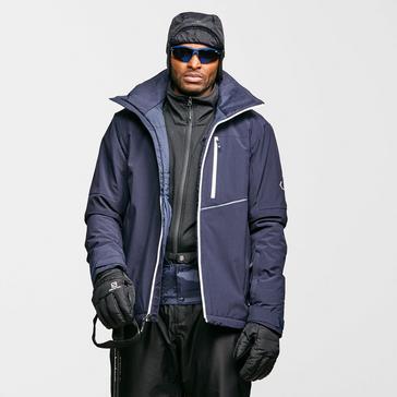 silver Salomon Men's Blast Ski Jacket