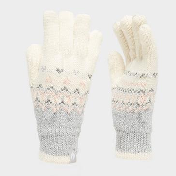 white Heat Holders Women's Trondheim Thermal Gloves