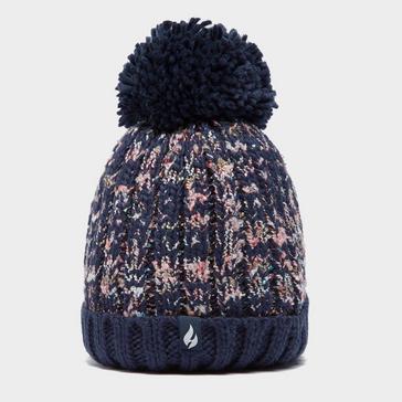Black Heat Holders Women's Eidda Pom-pom Hat