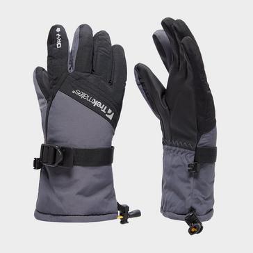 Grey Trekmates Kids' Mogul Gloves