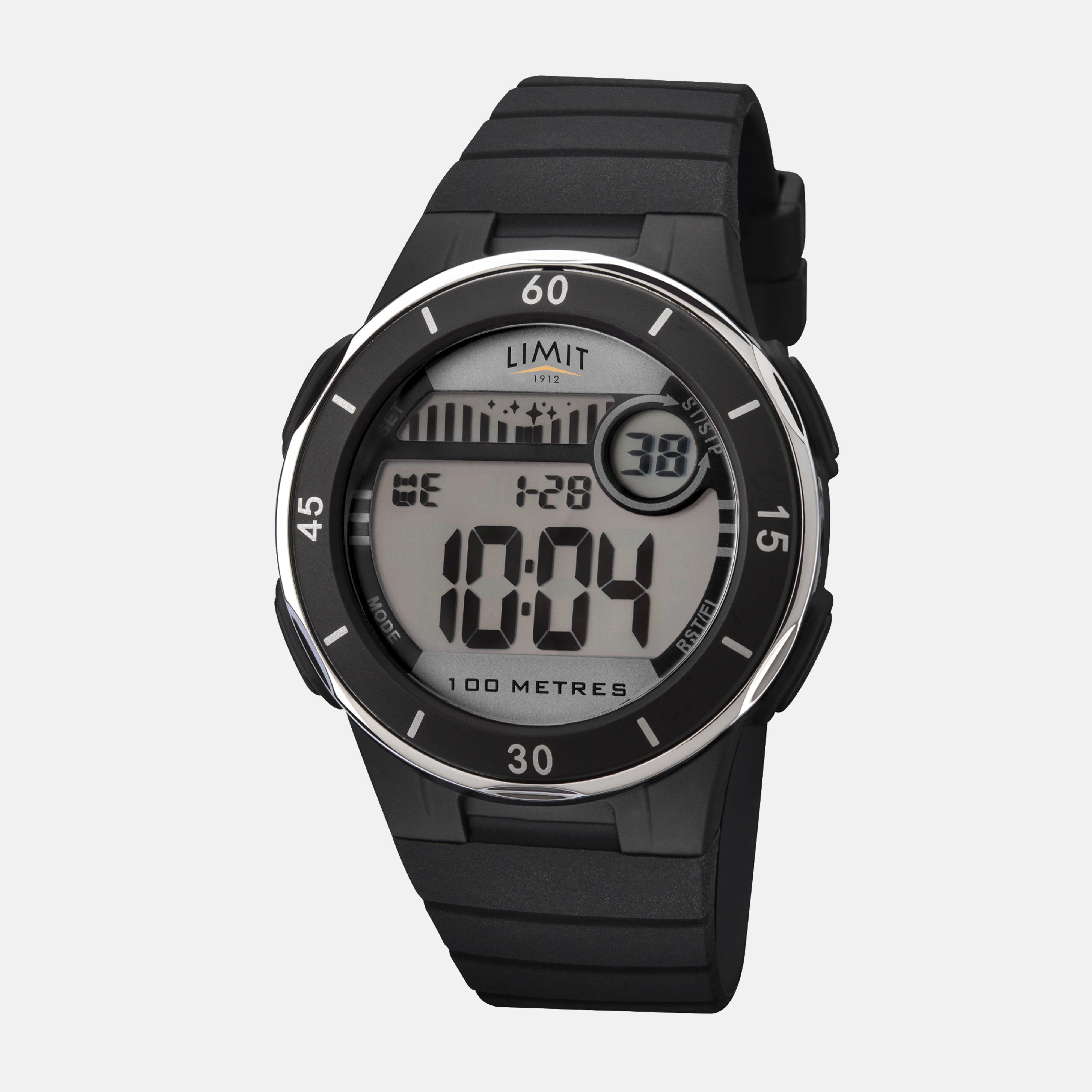 Limit Limit Active Digital Sports Watch, Black