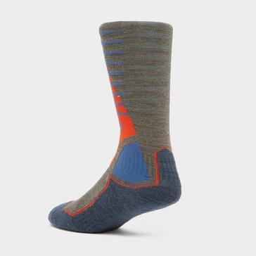 Multi Bridgedale Men's Mid-weight Merino Wool Ski Socks