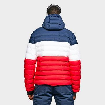 Red Ellesse Men's Drummond Ski Jacket