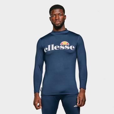 Navy Ellesse Men's Dean Long Sleeved Top