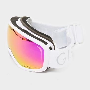 White GIRO Women's Millie Ski Goggles